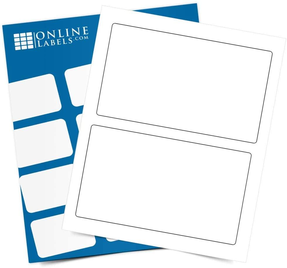 PayPal 7.375 x 4.5 Shipping Labels - Pack of 200 Labels, 100 Sheets - Inkjet/Laser Printer - Online Labels