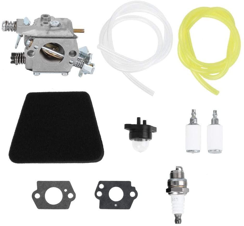 Aluminum Carburetor, Carburetor Carb Kit Replacement 200g/7.1oz Fit for Poulan Chainsaw 1950 2050 2375 2150