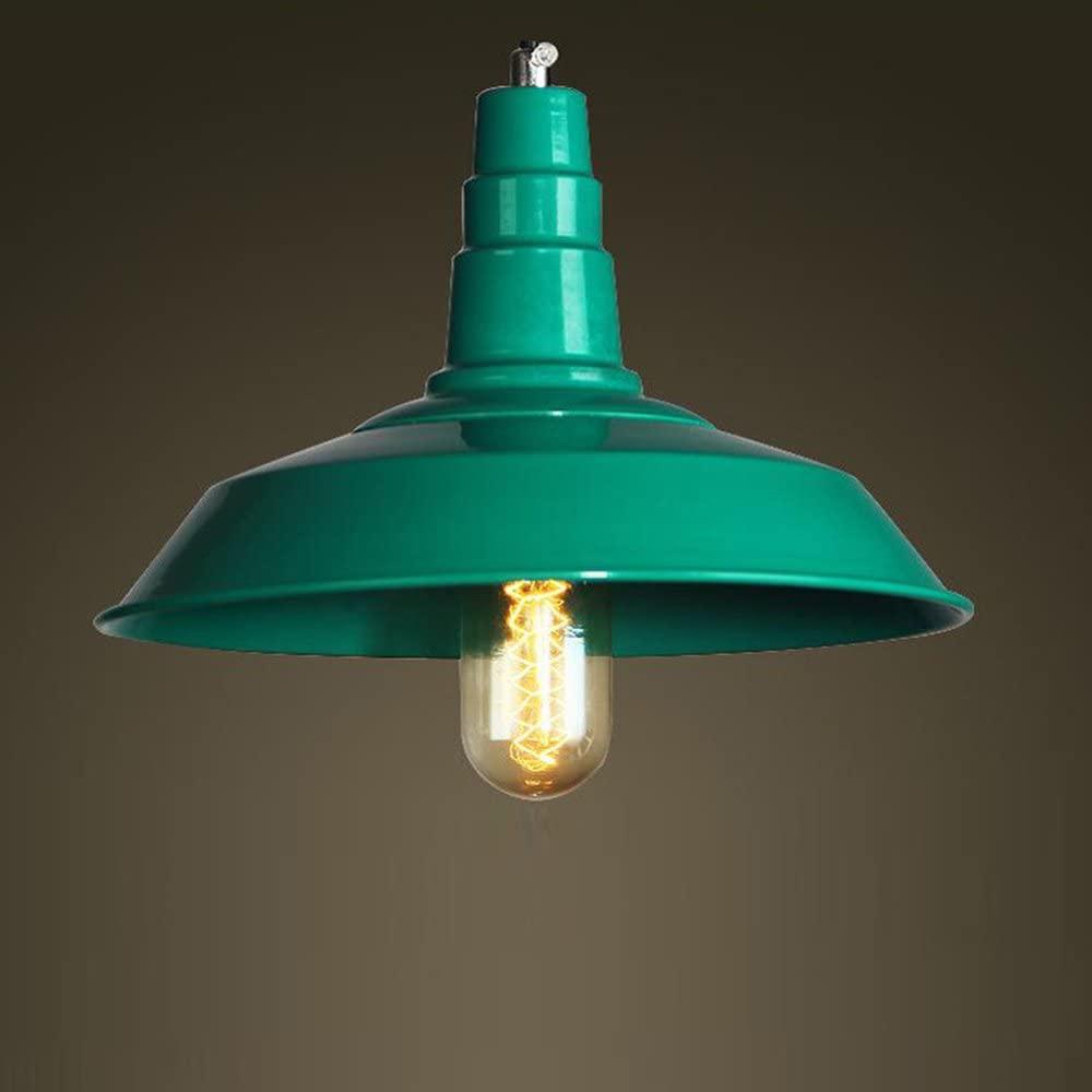 Pendant Light, Sanguinesunny Ceiling Lamp Cover Shape Chandeliers 1-Light Hanging Light Fixture E27 Bulb 110-120V