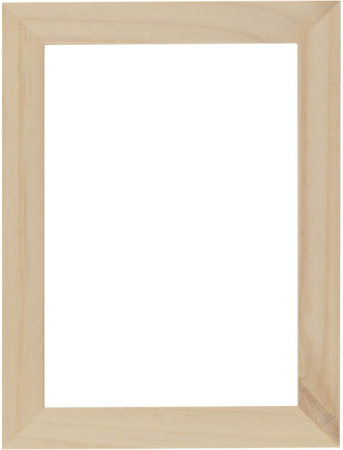 Ambiance Unfinished Wood Gallery Frame 5x7 in
