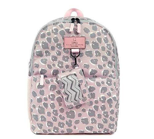 TWELVElittle Adventure Kids Backpack (Pink Leopard) - Kids Backpack for Boys and Girls