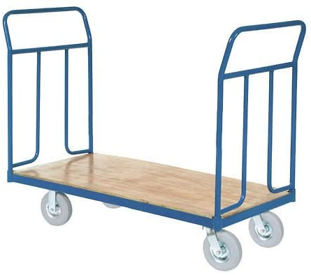 Wood Deck Platform Truck w/Removable Handles, 1200 Lb. Capacity,8