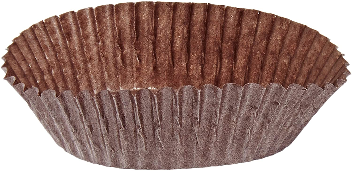 Cybrtrayd No.601 Peanut Butter Paper Candy Cups, 200-Count, Brown