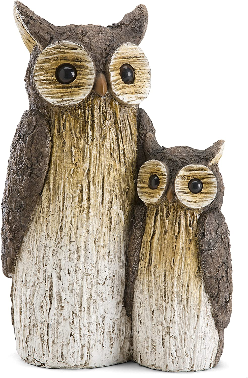 Wind & Weather Mother and Baby Owl Garden Statue