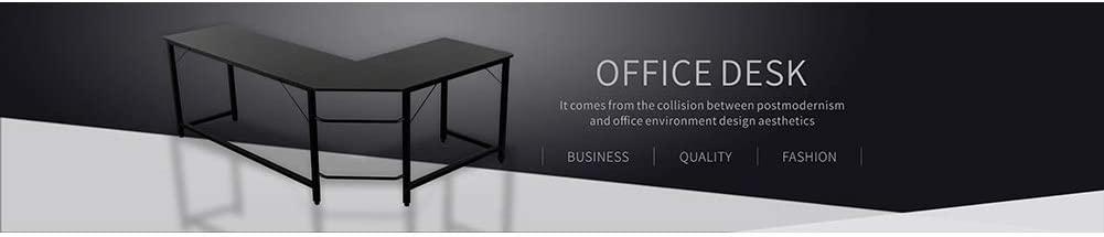 L-Shaped Corner Table Corner Computer Desk, Home Gaming Desk L Shaped Desk Home Office Desk