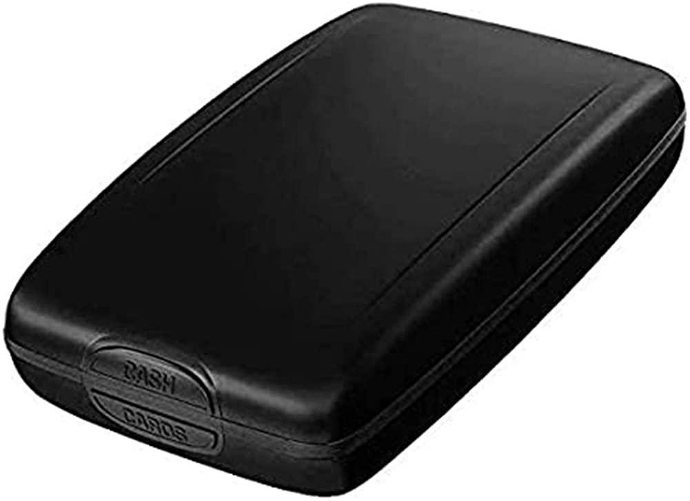 RFID Aluminum Purse Wallet Credit Card Holder,Security RFID Blocking Metal Wallet Case Business Card Protector