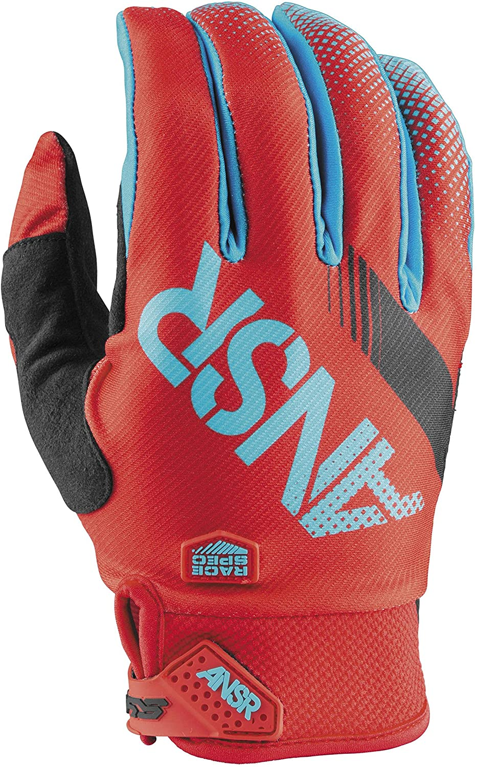 Answer Racing Syncron Gloves - Small/Red/Teal