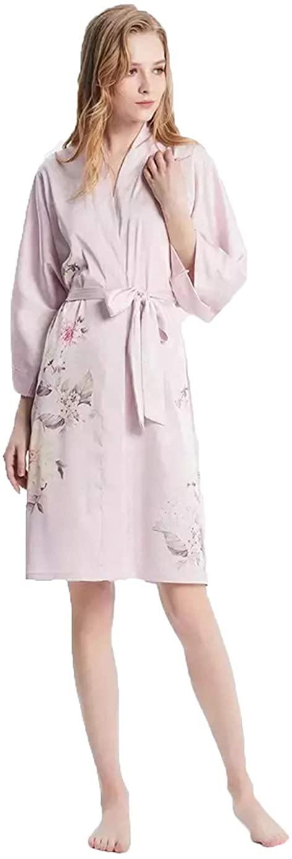 Grace Silk 100% Silk Short Robe Kimono
