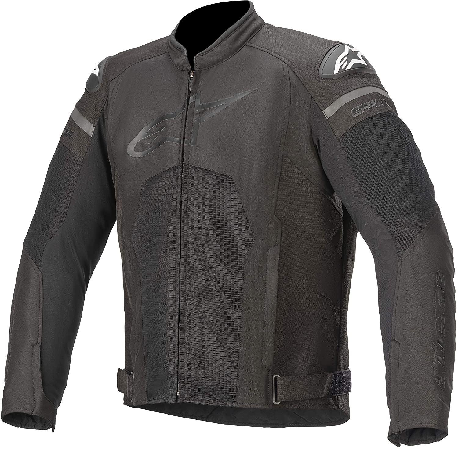 Alpinestars Men's T-GP Plus R v3 Air Motorcycle Jacket, Black/Black, 4X-Large