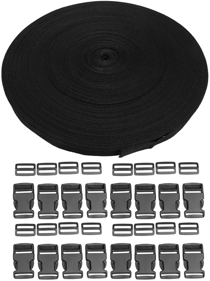 Milisten 1 Roll Natural Cotton Twill Tape Bunting Bias Tape Herringbone Webbing Tape Roll for DIY Sewing Dressmaking Craft
