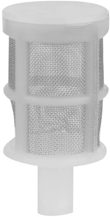 Conlense 10Pcs Aquarium Water Pump Filter Cleaning Mesh Net Accessory for Fish Tank(10MM)