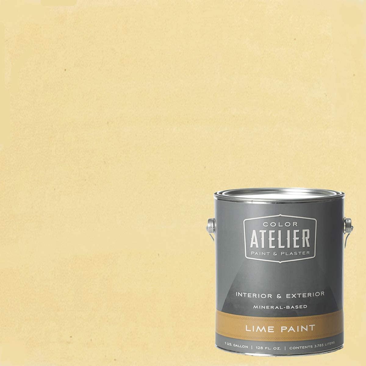 Color Atelier Lime Paint (1 Gallon, Light Custard)
