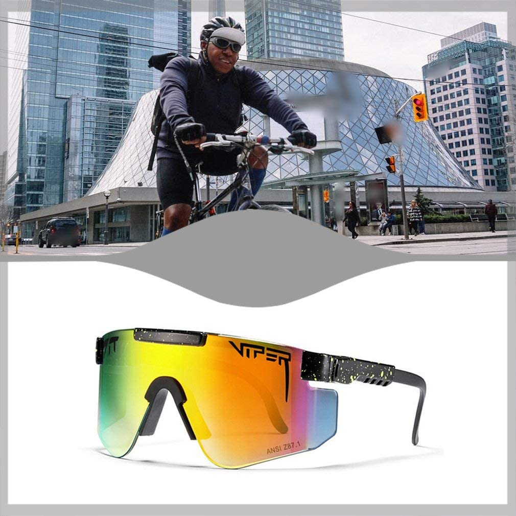 Pit Viper Sunglasses, Outdoor Cycling Glasses, Polarized Sunglasses for Women and Men,Golf Driving