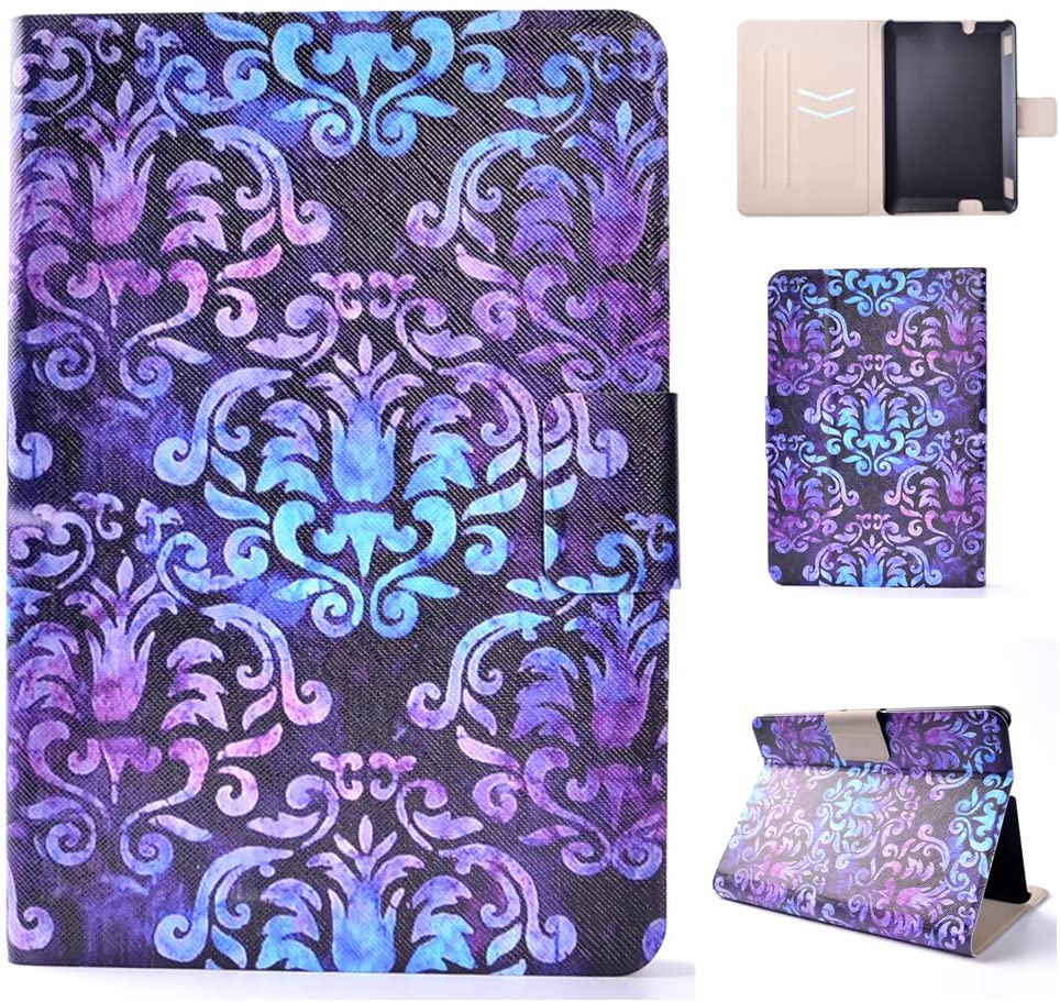 Kindle Fire HDX7 Cover,Abtory Kindle Fire HDX7 Cases,360 Rotating Folio Leather Stand [Wallet] Shell Cover with Auto Sleep/Wake Feature for DHgate Kindle Fire HDX 7