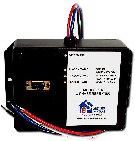 Simply Automated UPB 3-Phase Repeater & Programmer Module (UTR)
