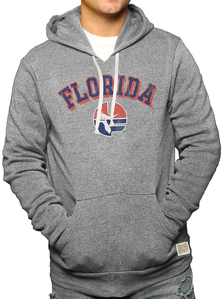 Elite Fan Shop NCAA Men's Tri Blend Hoodie Gray Retro