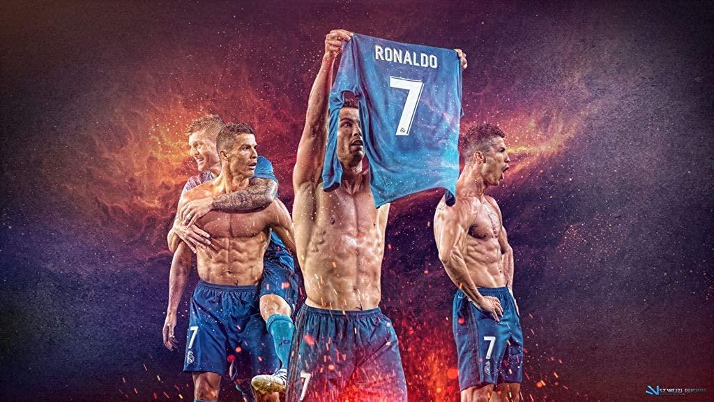 Cristiano Ronaldo Poster 12x18 inch Rolled