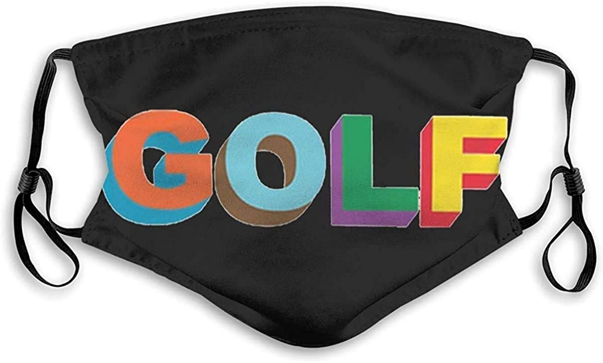 lizixing Golf Wang Tyler The Creator Rap Face mask Headscarf Outdoor Seamless Reusable Scarf