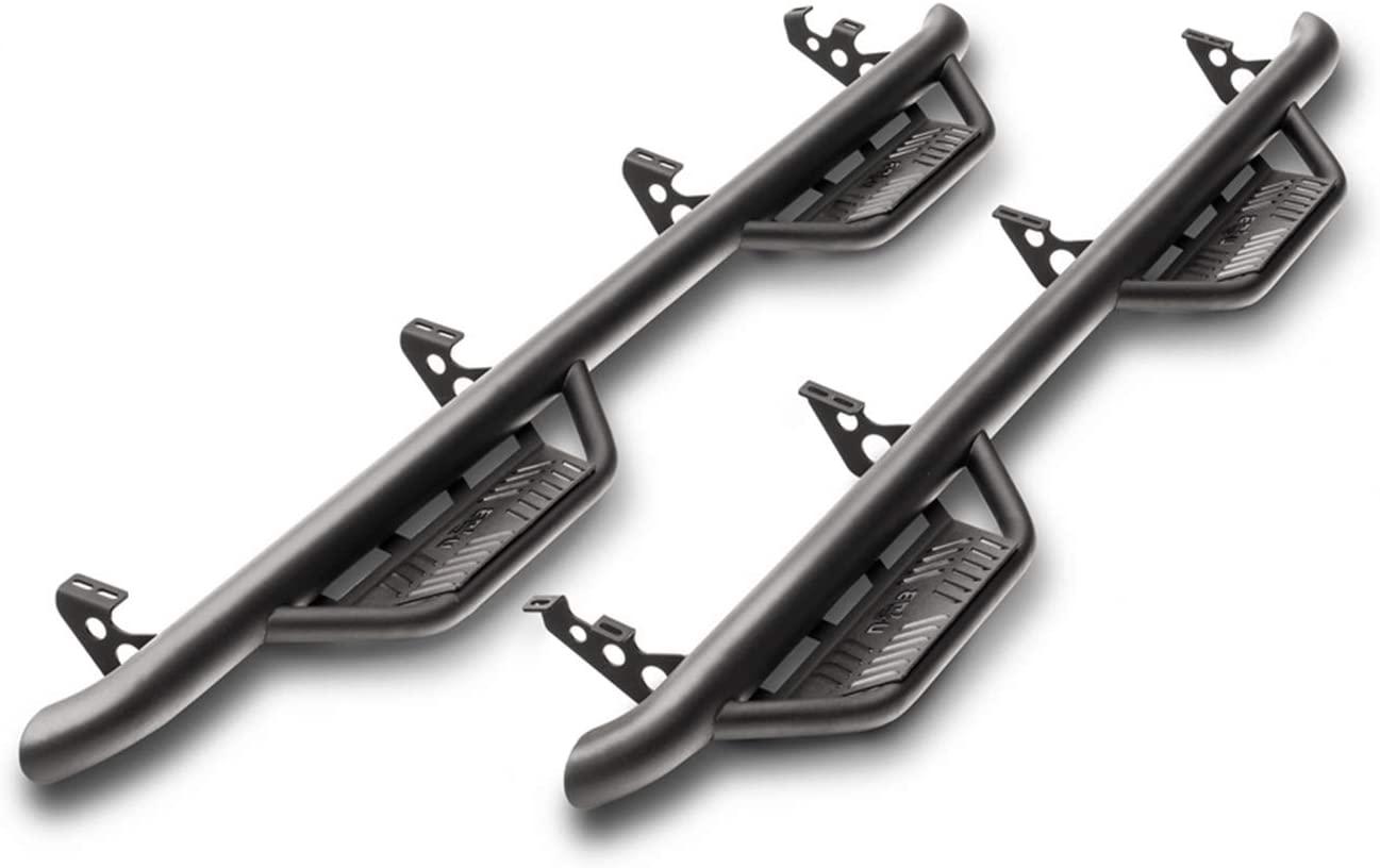 N-FAB HPC1473QC-TX Textured Black Podium LG; Cab Length Chevy-GMC 1500 Double Cab All Beds 14-18