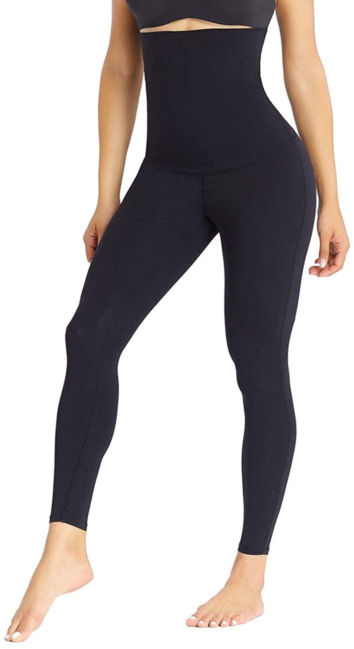 Lover-Beauty Women Tummy Control Body Shaper Hi-Waist Butt Lifter Thigh Slimmer Panties Waist Trainer Shapewear Leggings