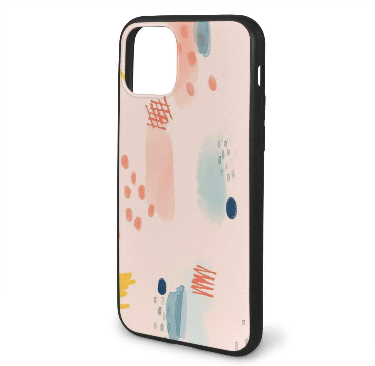 Unisex Anti-Scratch Cover Compatible Hard Slim Fit Bumper Cover Pink Dream Catcher Lightweight Duty Shockproof Clear Back Full-Body Protective Case for Iphone11