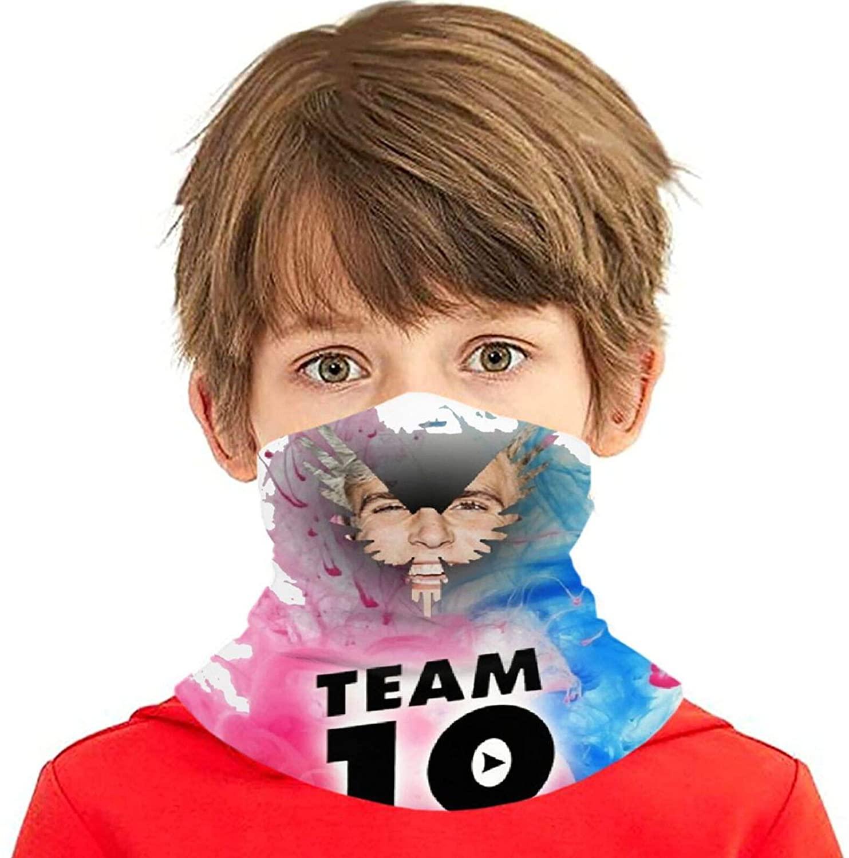 Logan Paul Face Mask Bandanas,Neck Gaiter,Headwear,Magic Scarf,Headband for Dust Sun Wind,Reusable Bandana Face Cover,Anime Face Mask Balaclava Protection from Dust Black