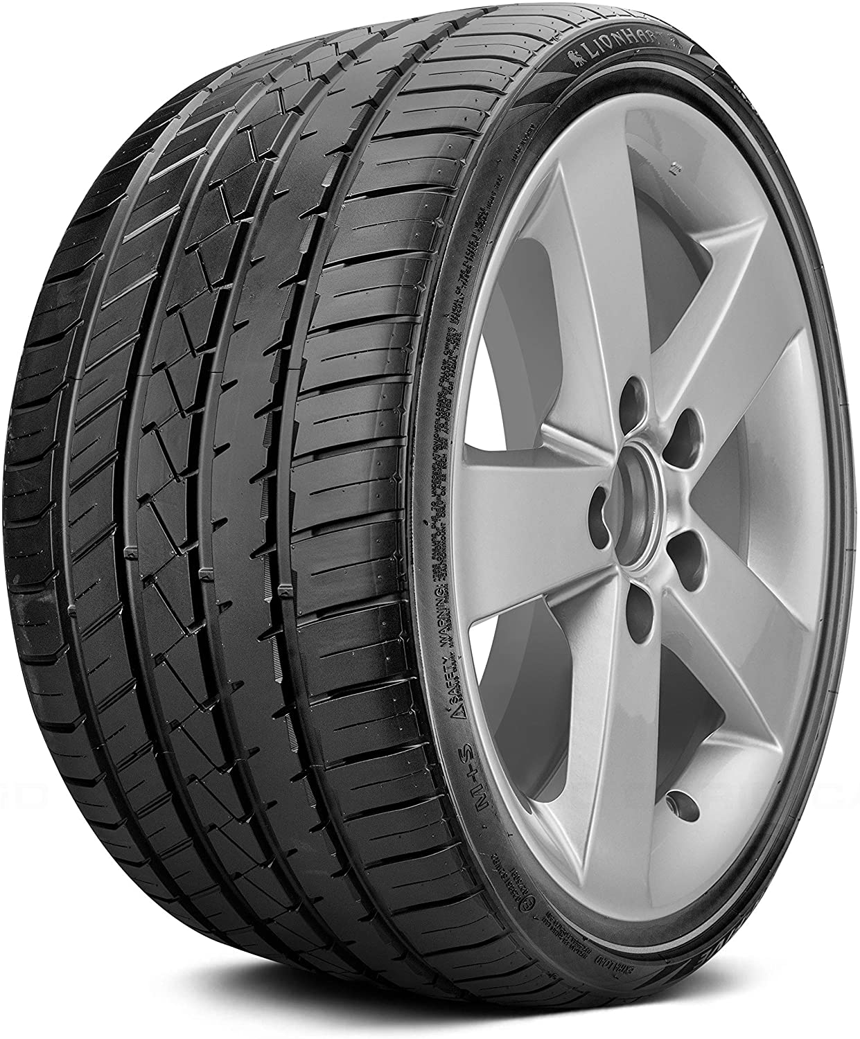Lionhart LH-FIVE Performance Radial Tire - 275/35R20 102W