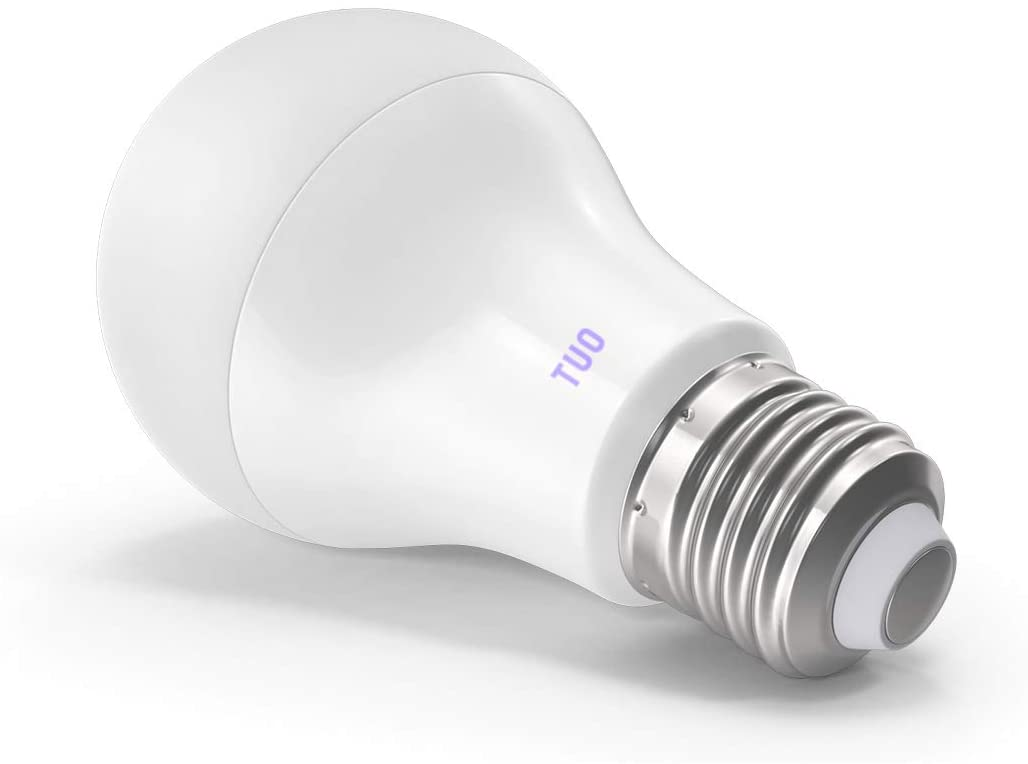 TUO Circadian Health LED Smart Bulb – Better Sleep and Energize - New 'Dawn Detector' Cells Targeting Light Technology - Custom Circadian Schedule - E26, A21, Wi-Fi, App Control, No hub