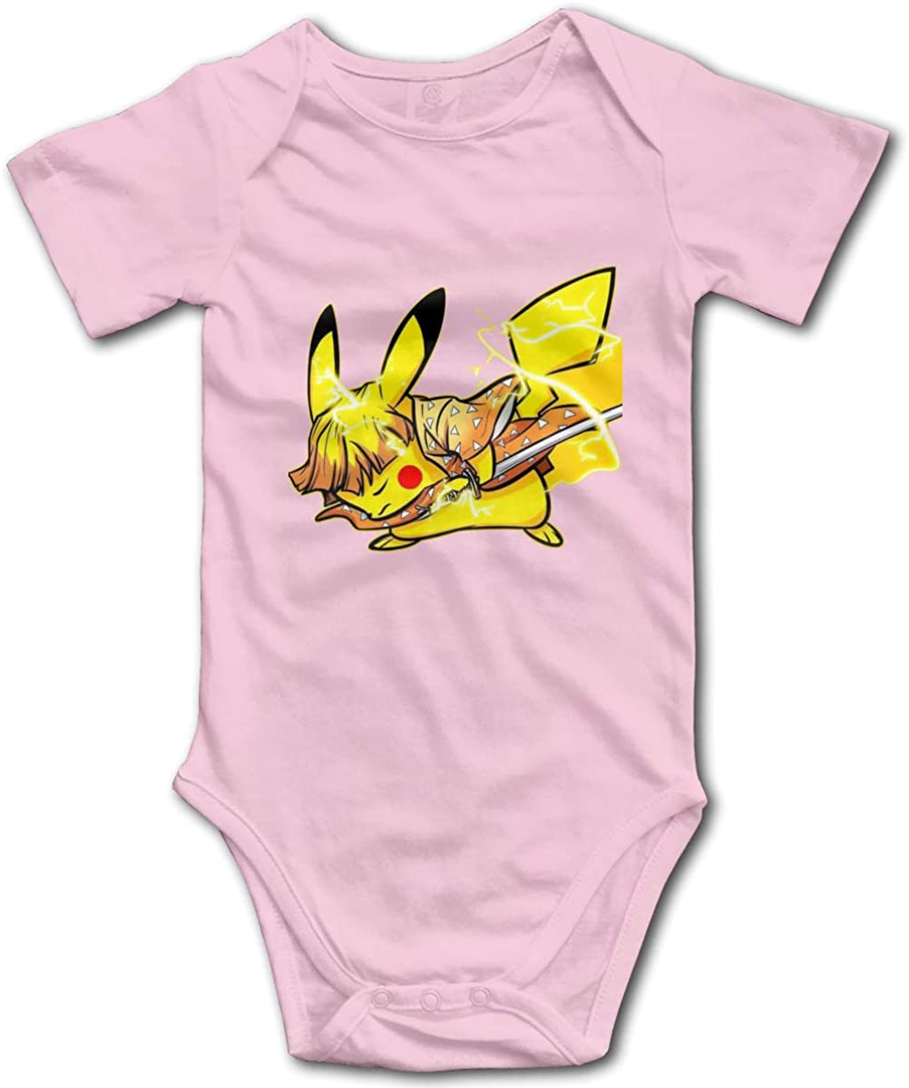 Kimetsu No Yaiba-PokÃmon-Creative Goods Baby Boy Girl Baby Onesies Unisex Baby Bodysuit Baby Onesie Bodysuit Toddlerrompers