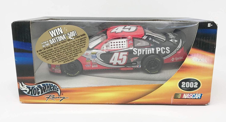 2002 Hot Wheels Kyle Petty #45 Sprint 1:24 Diecast Car