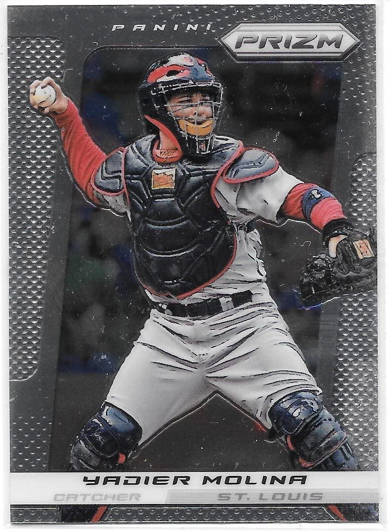 Yadier Molina 2013 Panini Prizm St. Louis Cardinals Card #15