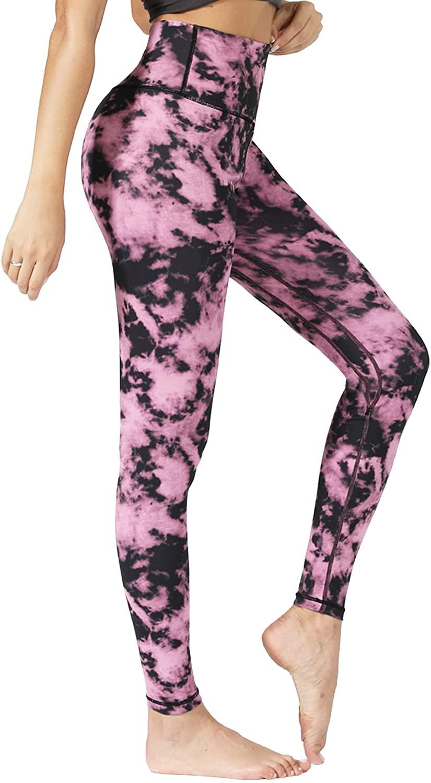 Natural Feelings Full Length Yoga Pants Workout Running High Waisted Leggings