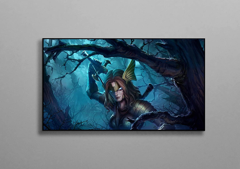 Marvel Super Hero Contest of Champions Poster Superheroine Marvel Comics Video Game Poster Canvas Printing Wall Decor Size - 11x17 18x24 24x32 24x36 (M - 18x24 (46x61cm))