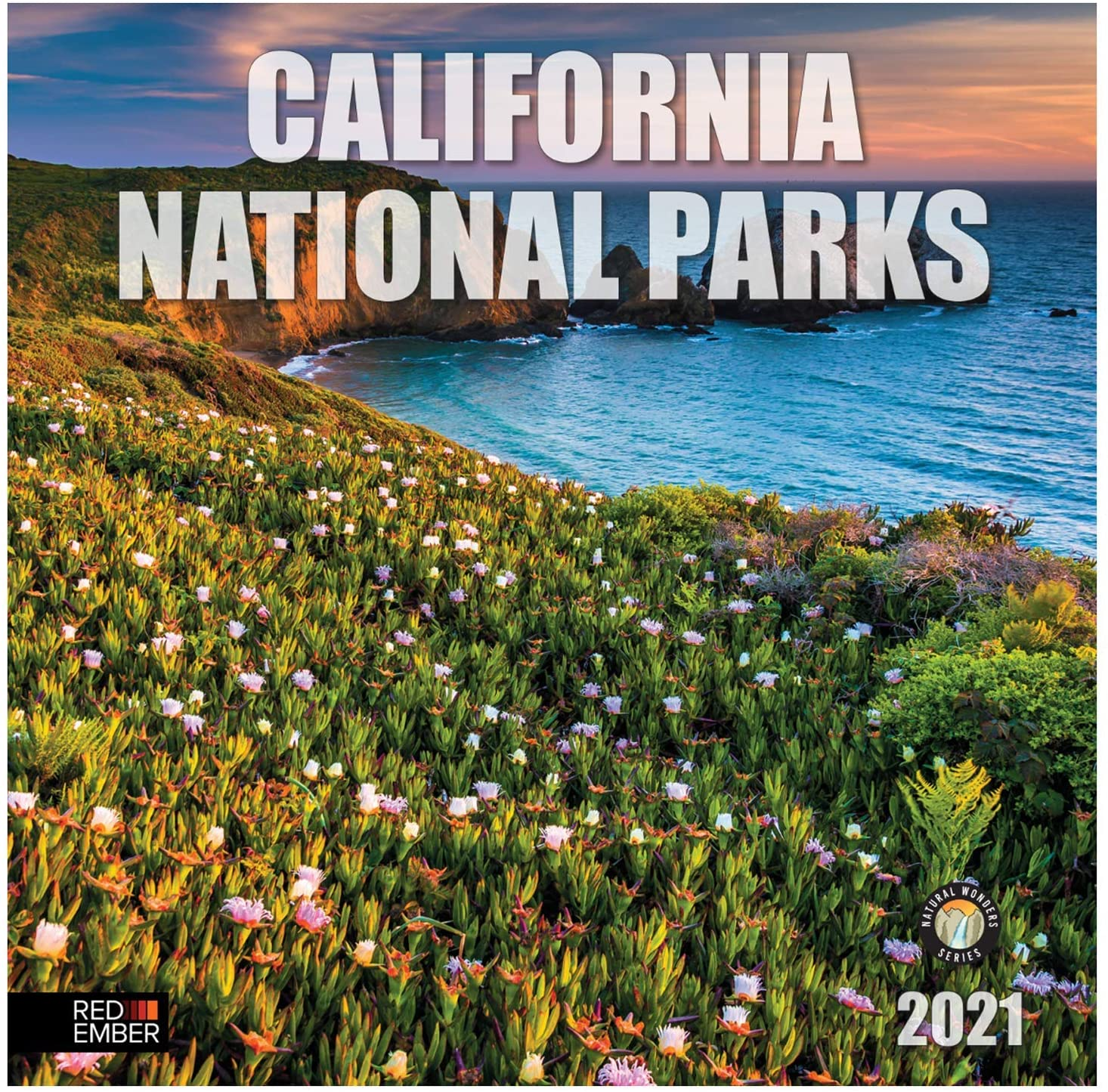 California National Parks - 2021 Wall Calendars by Red Ember Press - 12