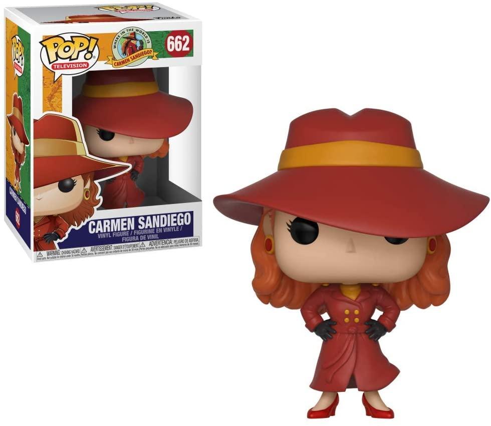 Funko POP! TV: Carmen Sandiego - Carmen Sandiego Collectible Figure, Multicolor
