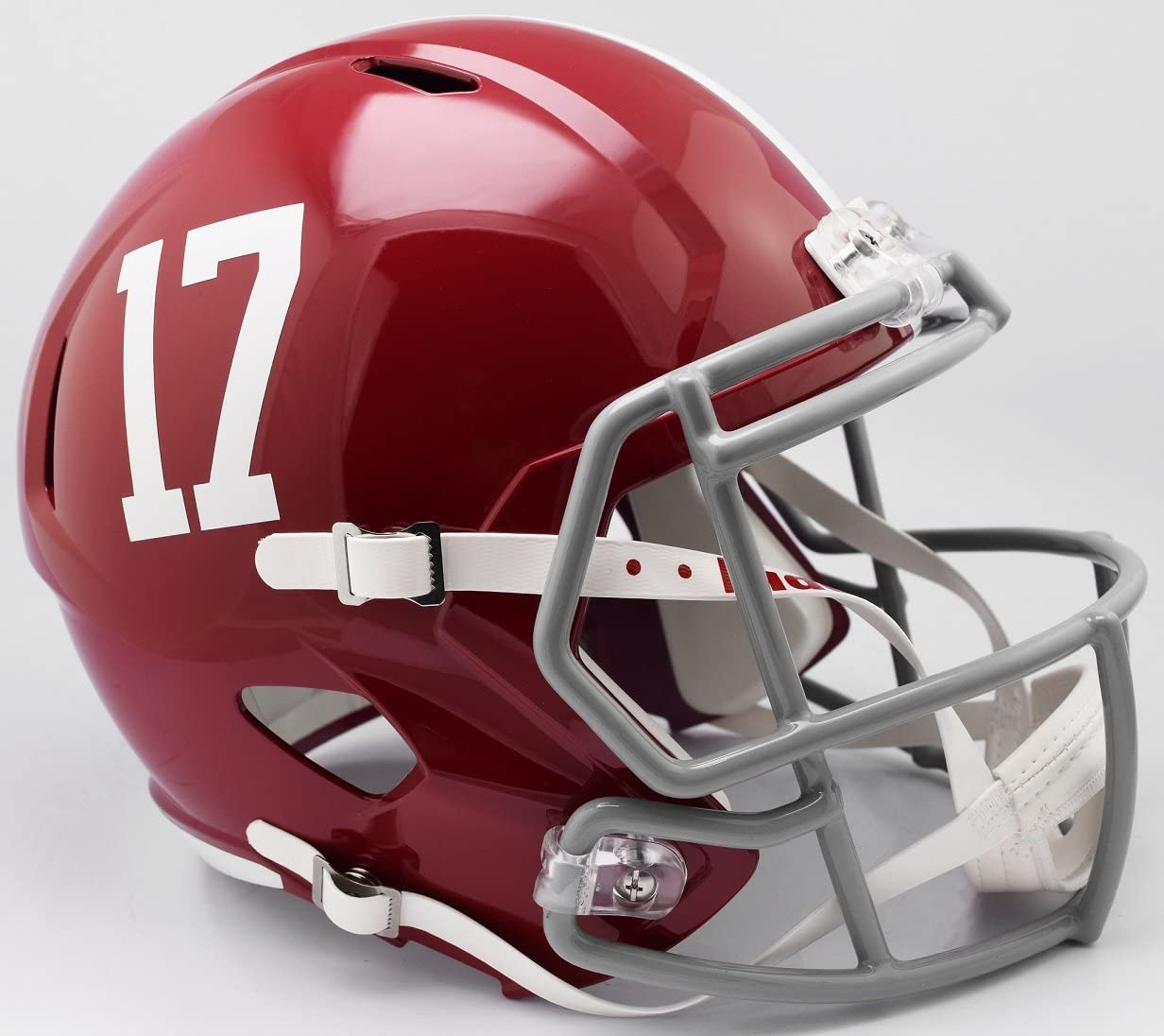 Riddell NCAA Alabama Crimson Tide Helmet Full Size Replica, One Size, Team Colors