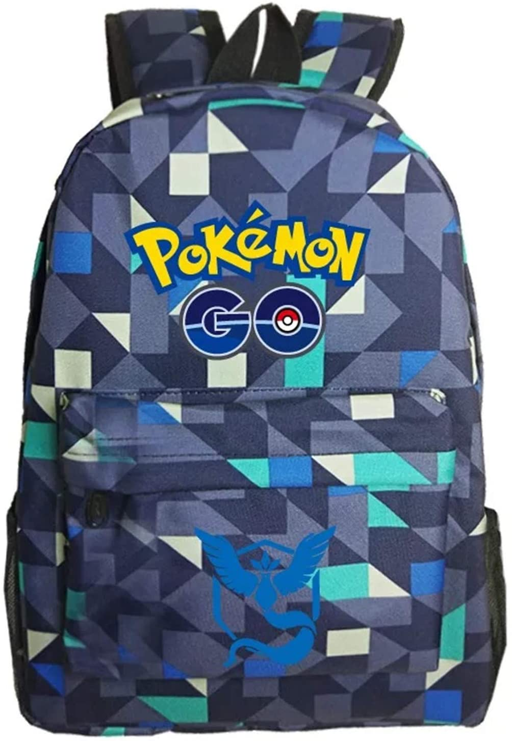 Kids Cartoon Pokemon Backpack School Rucksack Backpack for Boys Girls One Size