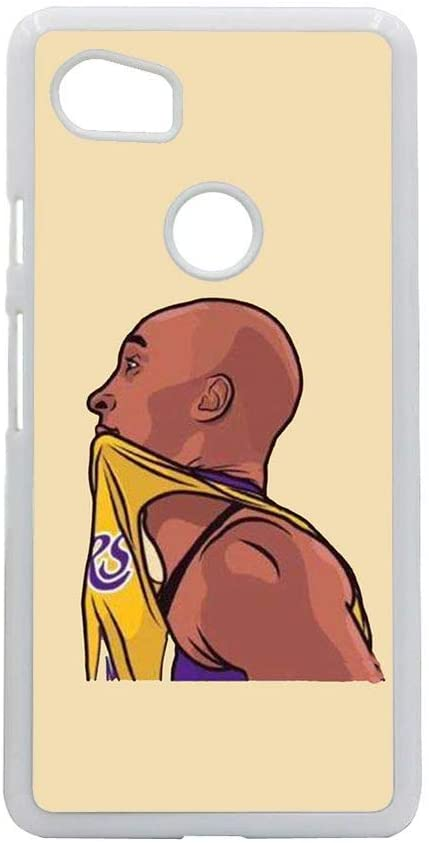 Babu Building Hipster Man Have with Basketball Player Rigid Plastic Shells Use for Google Pixel 2 XL