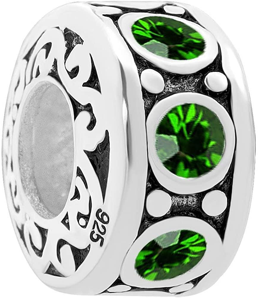 DemiJewelry 925 Sterling Silver Jan-Dec Charms Sale fit Bracelet