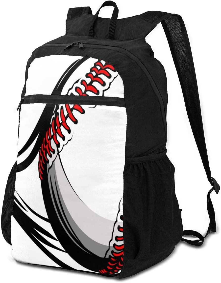 BackpackSoftball with Sport Line Backpack School Shoulder Backpacks Casual Daypack