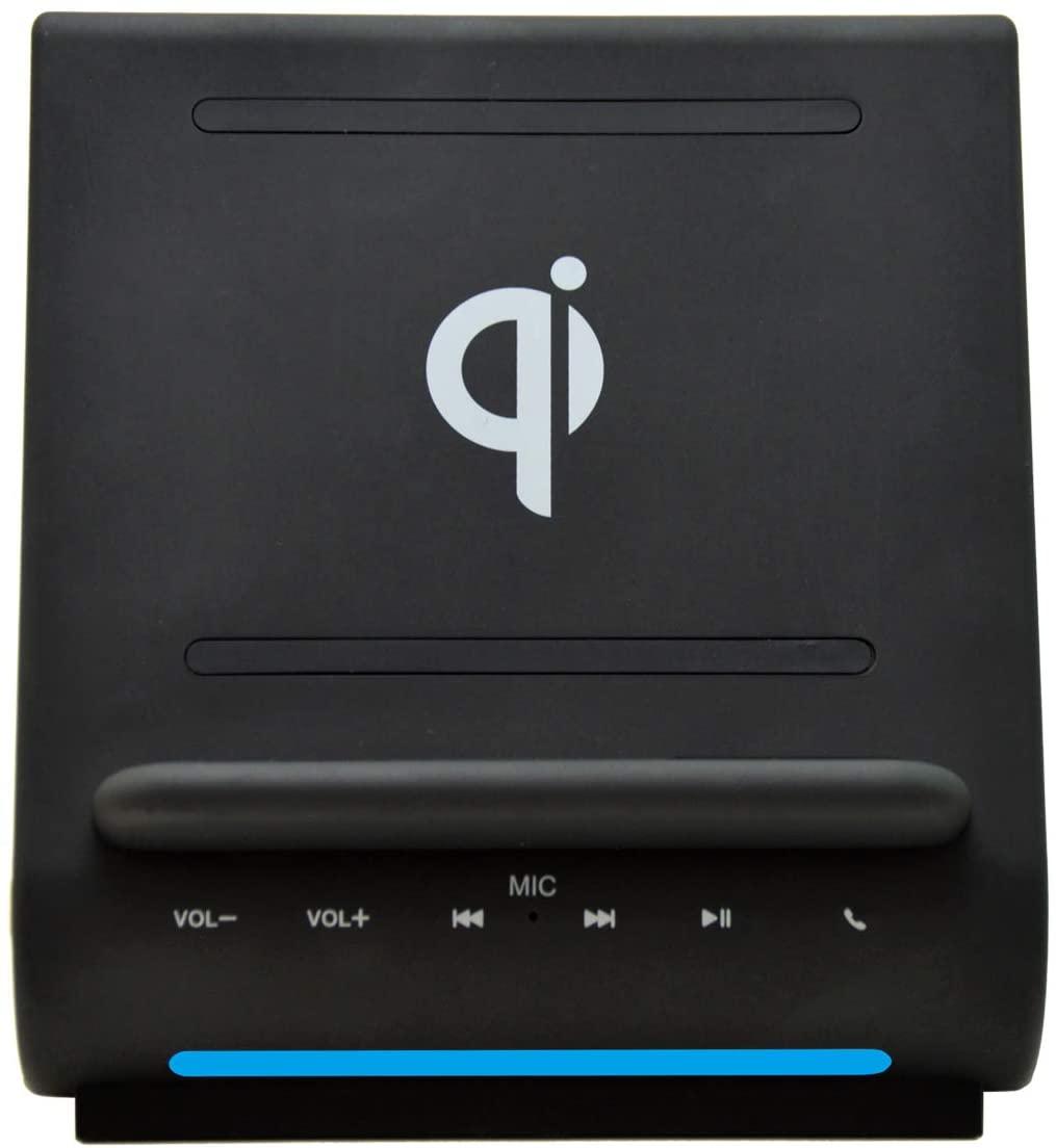 Dockall 2 10W Fast Qi Wireless Charging Sound Hub Bluetooth Speakers Handsfree for iPhone