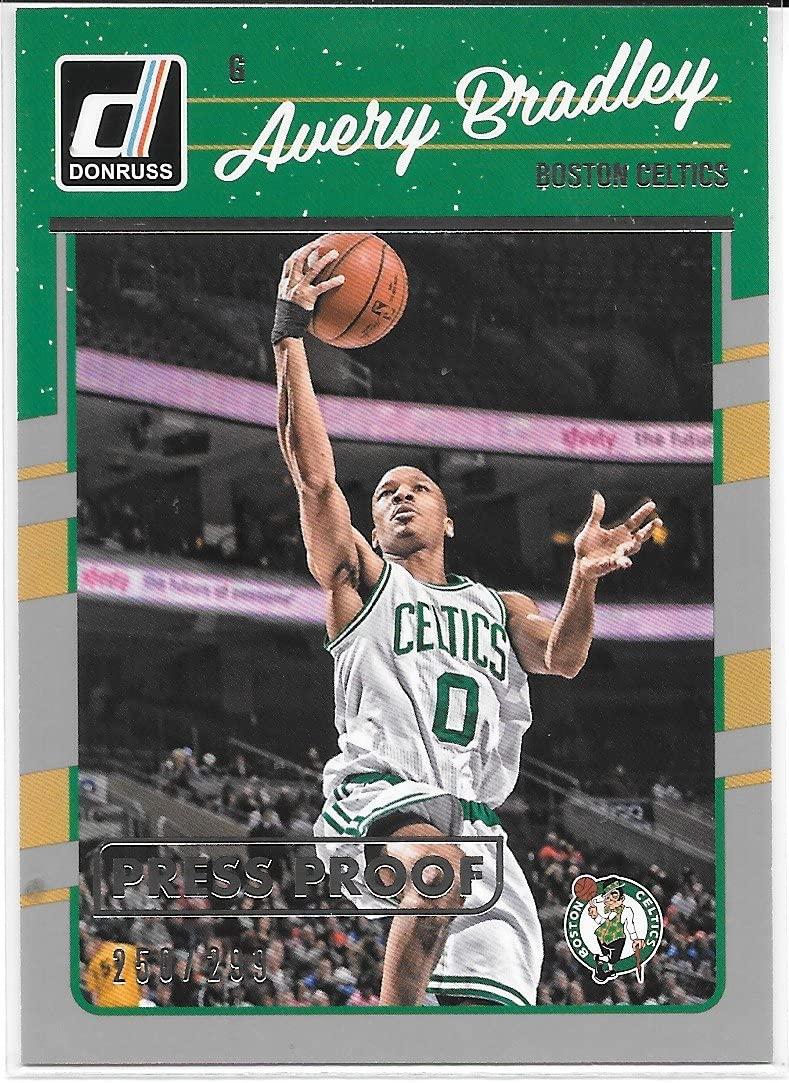 Avery Bradley 2016-17 Donruss Press Proof Silver #250/299 Boston Celtics Card #21