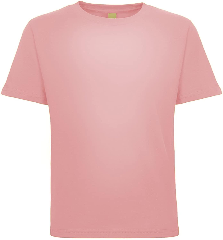 Next Level Baby Boy Cotton T-Shirt, Light Pink, 2T