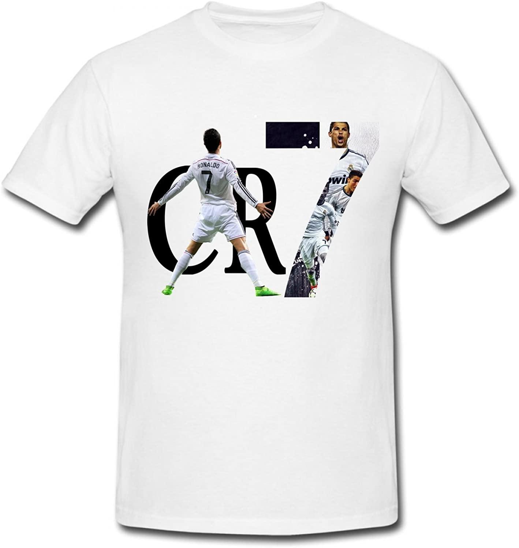 CONOC Boy's&Girl's 2015 CR7 Cristiano Ronaldo Real Madrid UEFA Youth T-Shirt