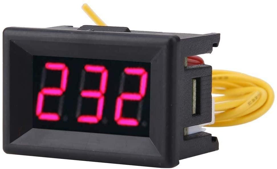 1pcs Digital 0.36inch 70V to 380V AC LED Panel Display Detector Voltmeter Multimeter AC Voltage Current Tester Meter Panel