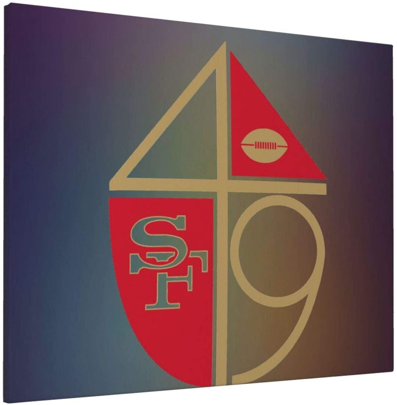 Ffashionshirt S-an Fr-ANC-ISCO 49e-Rs Hliving Room Bathroom Kitchen Art Frameless Painting 16x20inch
