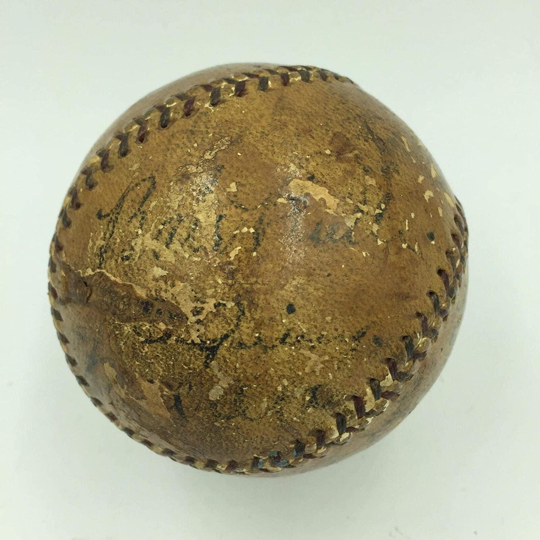 Babe Ruth Lou Gehrig & Mel Ott Signed 1933 New York Yankees Baseball JSA COA