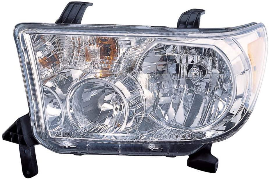 For Toyota Tundra Headlight Assembly 2007-2013 Driver Side w/o Level Adjuster For TO2502171 | 81150-0C051