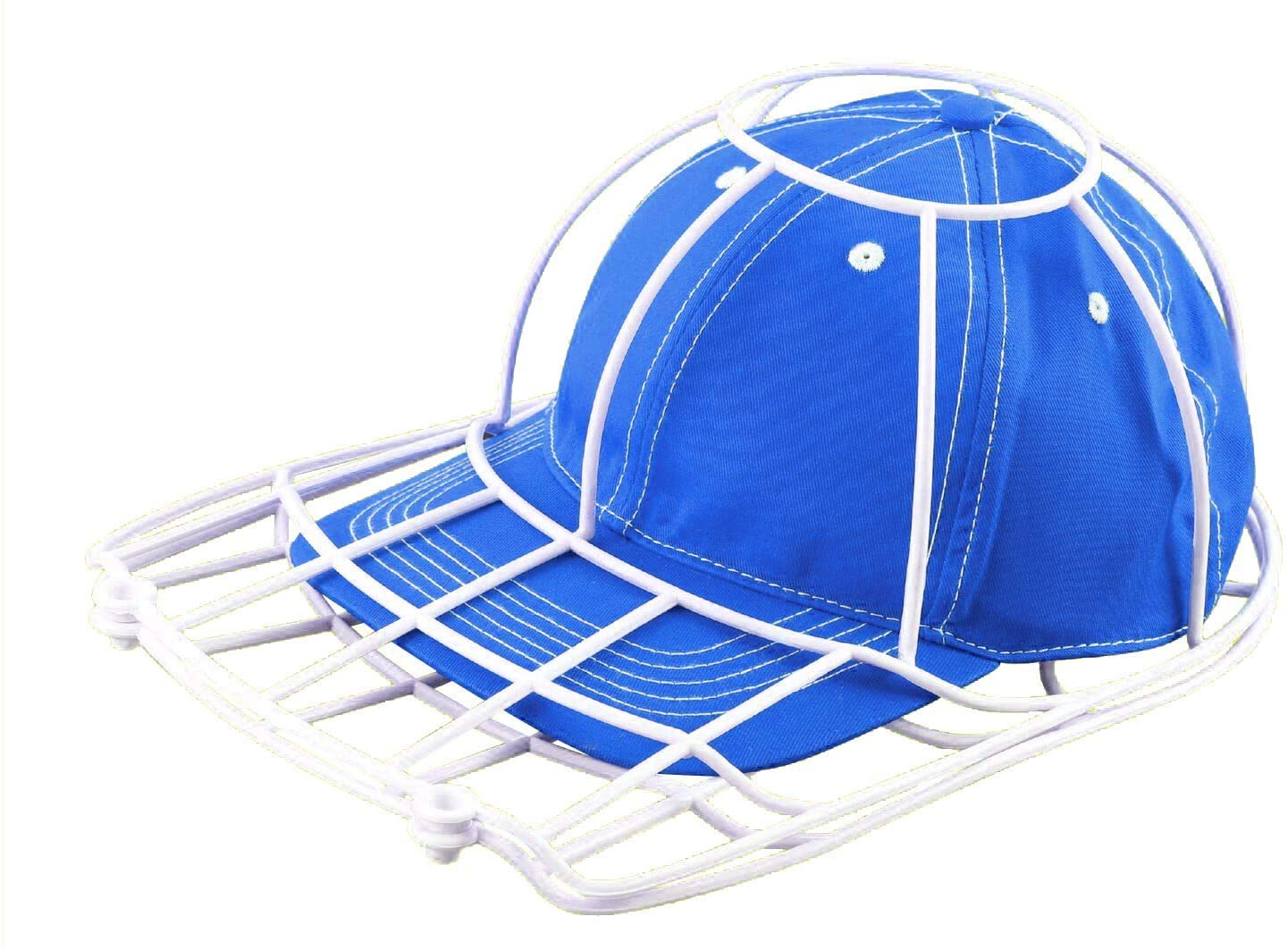 TSF TOYS Ballcap, Cap Washer, Baseball Hat Cleaner, Shaper Protector Cage, Ball Cap for Washing Machine Dishwasher Closet Hanger Organizer and Luggage, The Original Hat Cleaning Made in USA (1 Pack)