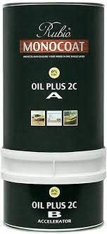 Rubio Monocoat Wood Stain Oil Plus 2C 5% Mist 350 ml